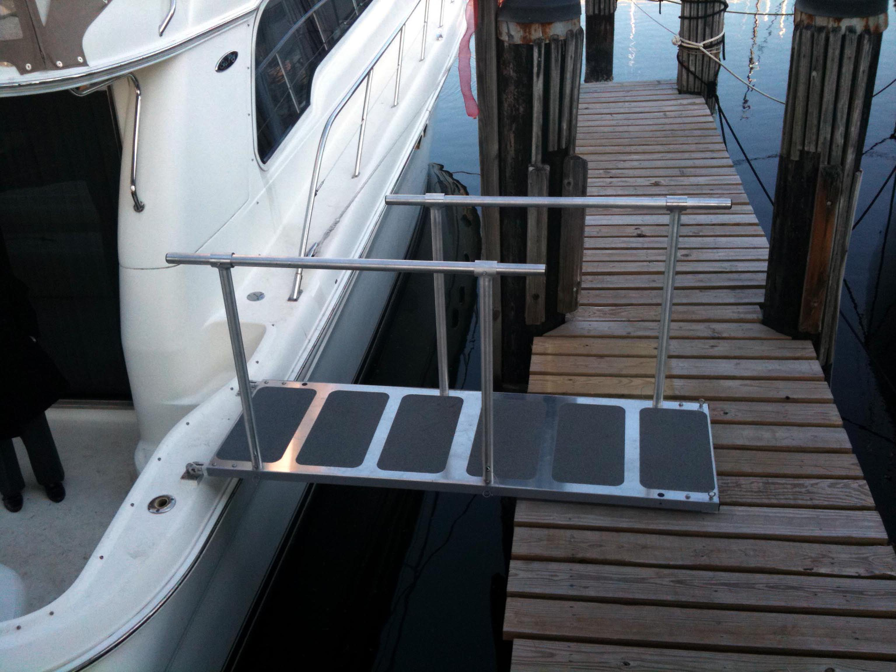 Boat Boarding Ramps Passerelle Solution Steadi Plank