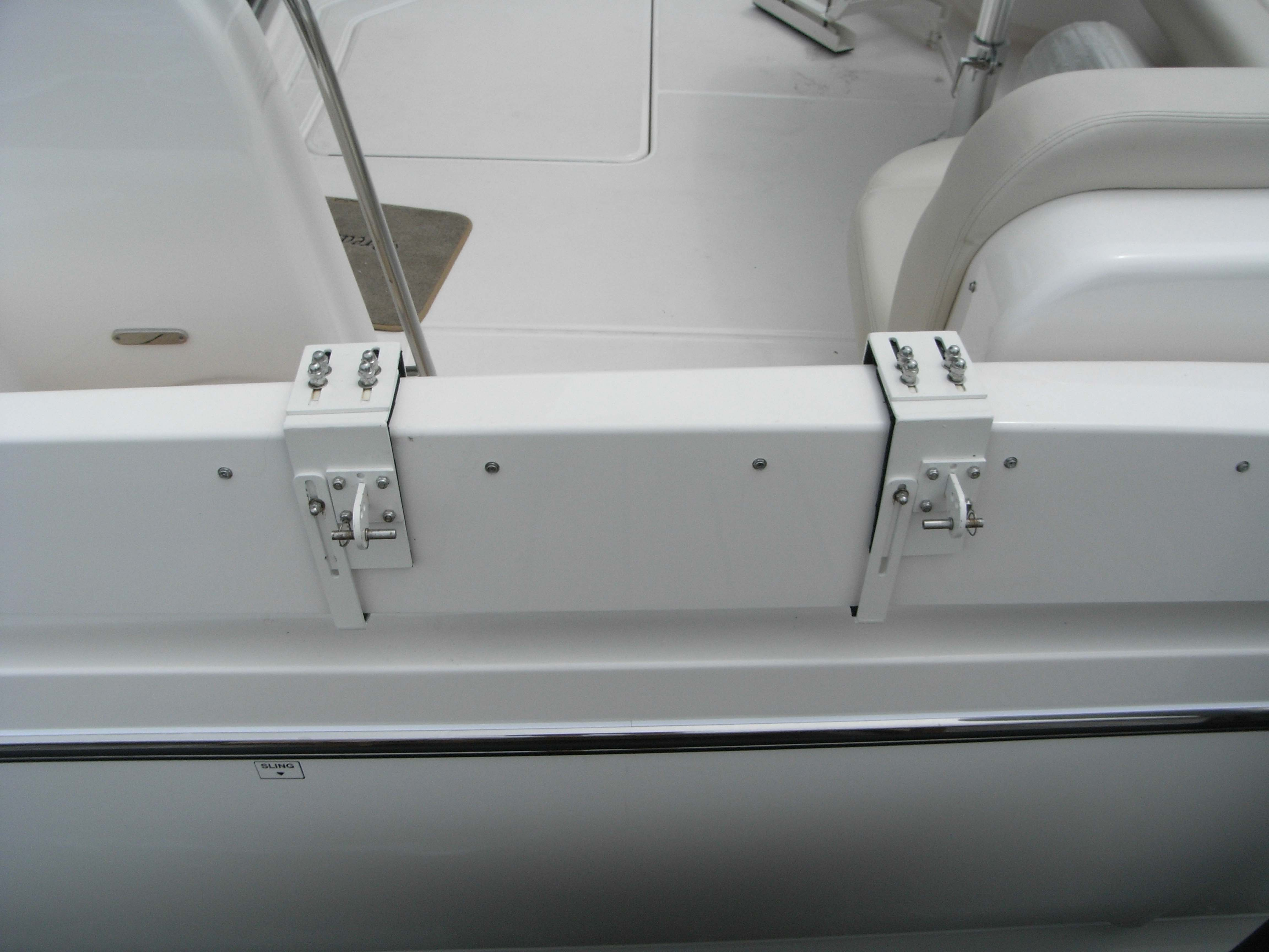 custom gunwale mount